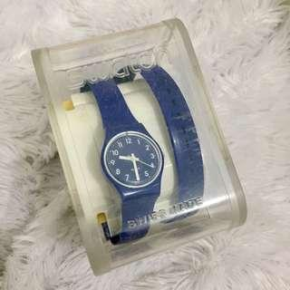Swatch lilit blue long strap