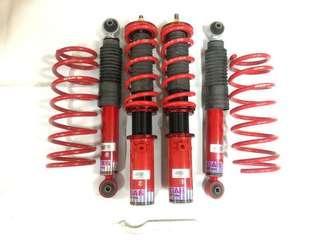 GAB Adjustable Coilover Suspension HAB SERIES HI LO BODYSHIFT PROTON SAGA/ISWAR
