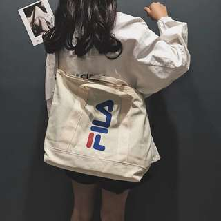 e2ee26b019d2 Ulzzang Canvas Tote Bag Big Large Huge Spacious Korean kpop for ...