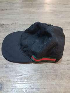 Gucci Black Cap (Authentic) S size (57) Retail Price 470SGD
