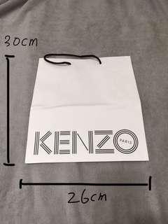 🚚 各種正品名牌紙袋 kenzo/juice couture/Victoria's secret/coach/just diamond/polo