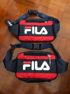 Fila cross bag red navy blue