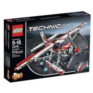 全新結業清貨價 Lego 42040 Technic Fire Plane