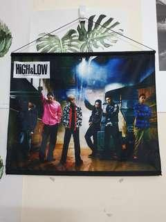 High & Low: The Story of S.W.O.R.D. Official Merchandise Poster