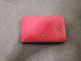🚚 Tory burch medium wallet pink