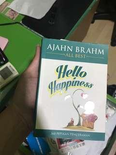Hello happiness with author's signature by ajahn brahm