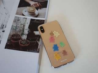 Gummy bear design phone protection case