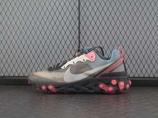 UNDERCOVER x Nike Epic React Element 87 'Chill Blue / Pink'