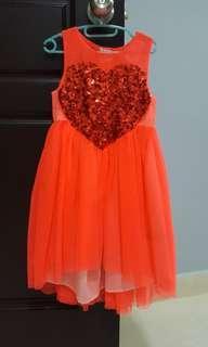 H&M girl tulle dress