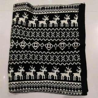 全新兩用厚圍巾