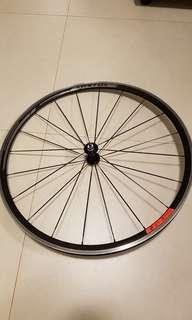 As new: Alexrim Syncros race 27 clincher front wheel