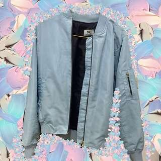 Bomber Jacket Baby blue