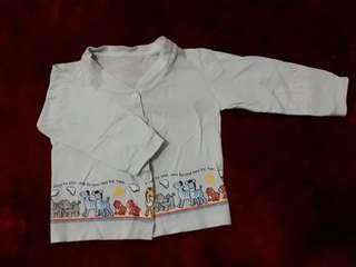 Baju panjang bayi