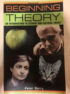Beginning Theory - an introduction to literary and cultural theory (3rd Ed) - Peter Barry