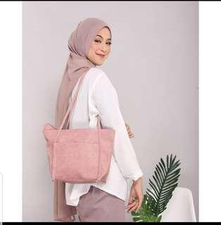 Lupita Tote Bag - pink