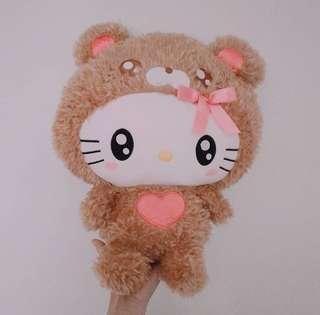 日本正版Hello Kitty公仔