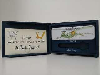 Little Prince wooden box with pencil case missing pen