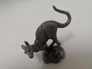 Pewter Kangaroo figurine