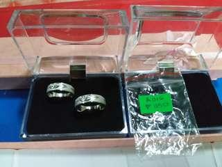 Couple's ring silver Italy 925