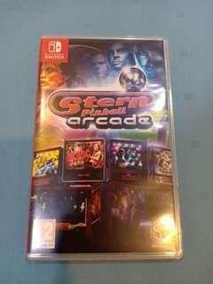 Nintendo Switch Used Game Stern Pinball Arcade Game