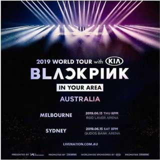 VIP BLACK Package, BLACKPINK- In You Area (Sydney)
