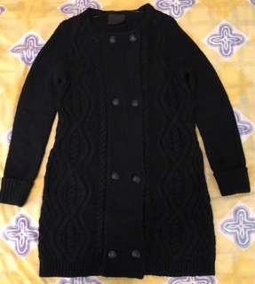 Giordano Ladies long cardigan sweater coat