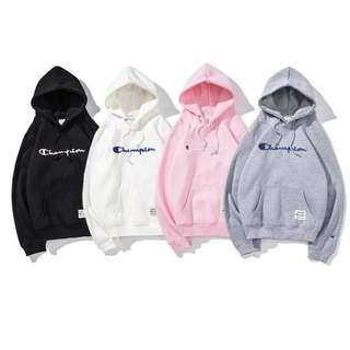 Champion Pullover Sweatshirt Hoodie (Long Sleeves) - Unisex