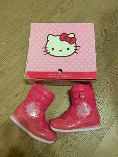 Hello Kitty shoes boot winter water proof size 29 防水鞋 冬天