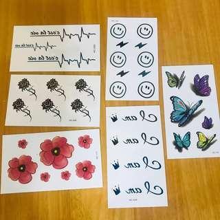 Watermark sticker 水印貼紙 紋身貼紙 A款