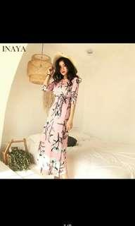 Maxi dress available.in pink