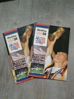 1994 World Cup (USA) Medallion Coin Collection X 2