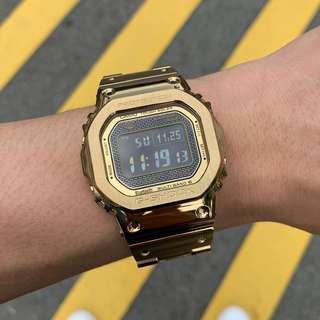 LNIB Casio G-Shock GMW-B5000TFG-9 Gold