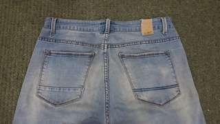 Garage Jeans Blue strechable (size 34) Slim Cut