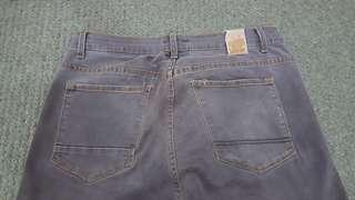 Garage Jeans Grey Strechable (size 34) Slim Cut