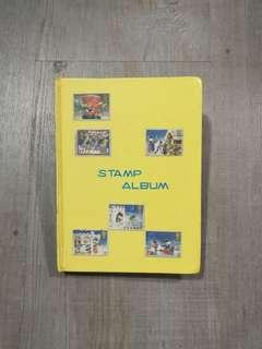 Stamps Collection Album