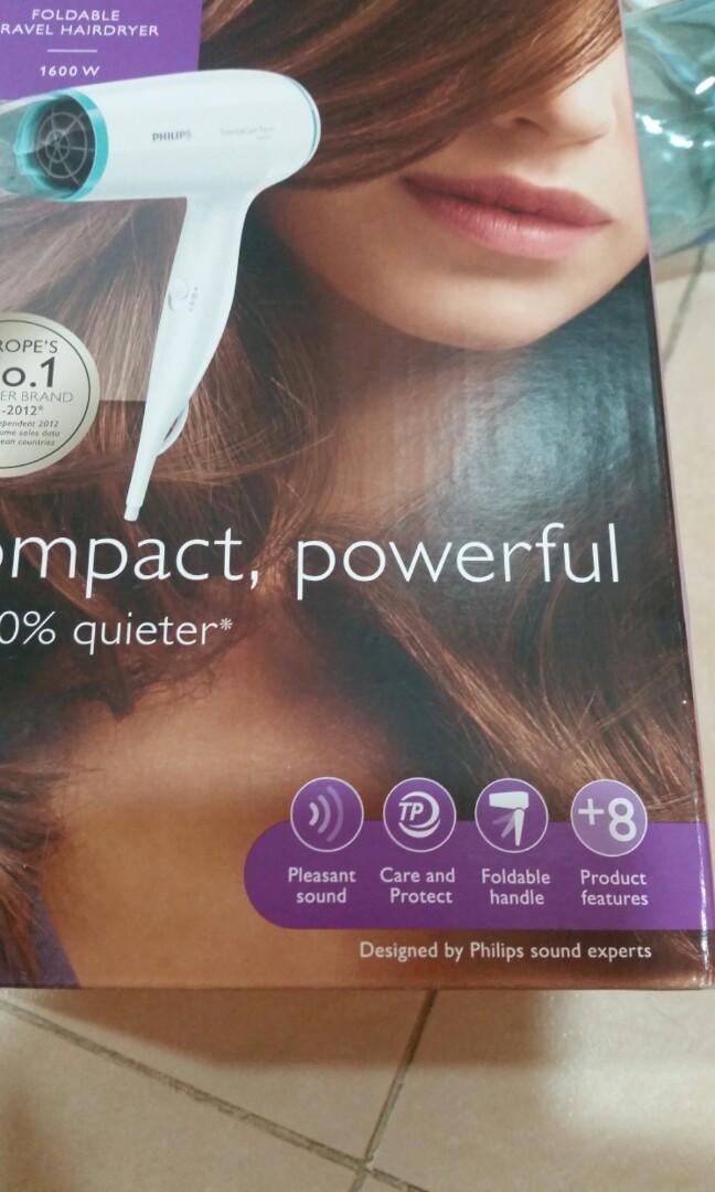 (仲有保養至2020年1月)Philips 旅行風筒 Foldable Hairdryer