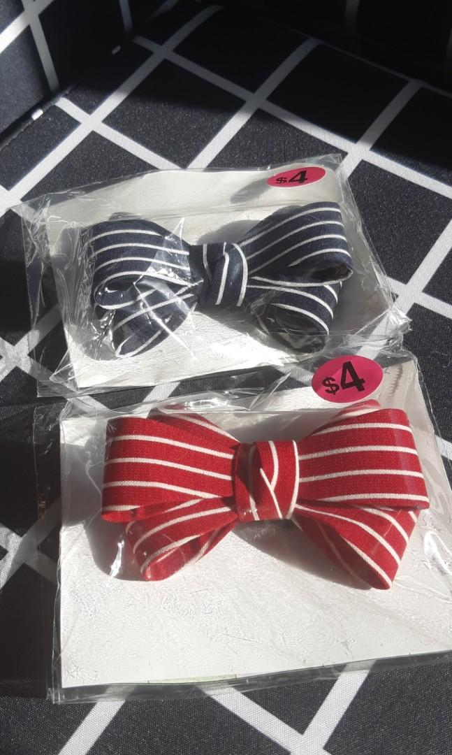 [ $1 Shipping] Cute Handmade Bow hair tie