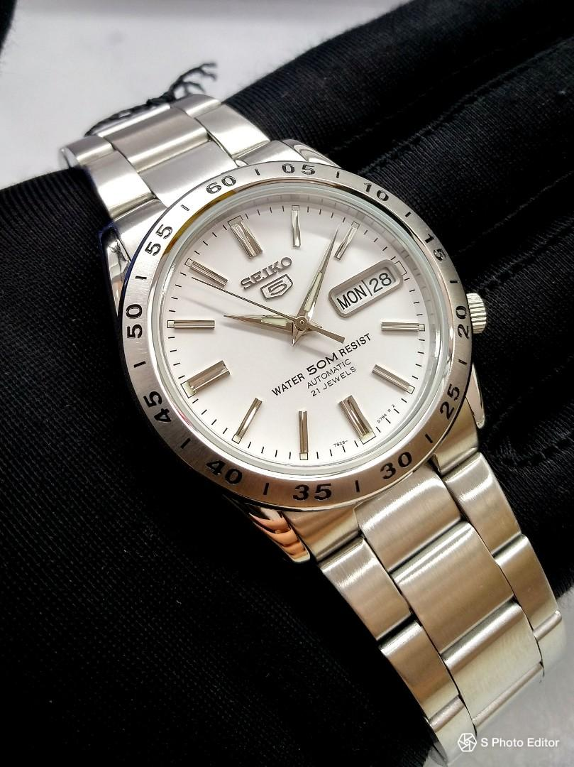 hot sale online 4e11c 8db48 FREE DELIVERY * Brand New 100% Authentic Seiko 5 Mens ...