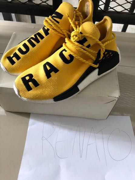 e8bb42e9de444 Adidas NMD Pharrel Human Race OG Yellow
