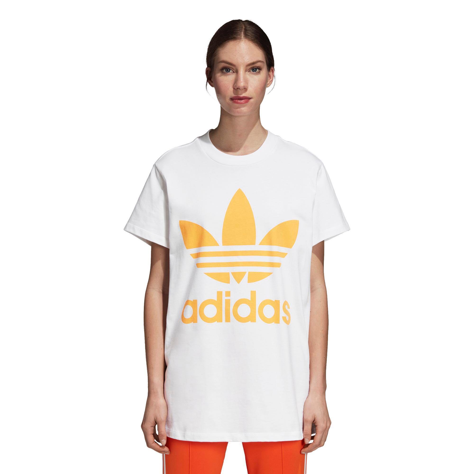 166fadcb94585 Adidas Trefoil T Shirt Womens - DREAMWORKS