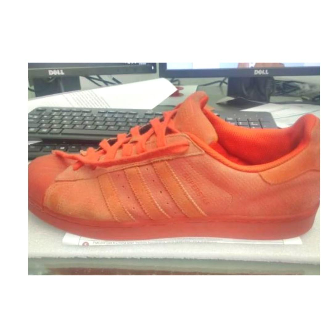adidas superstar original red