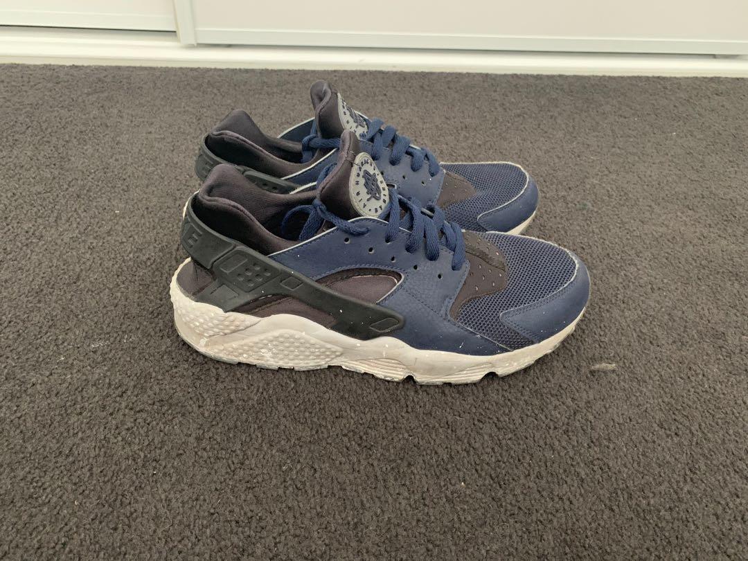 Air Huarache Men's Shoes Mid Navy/Obsidian-Gym