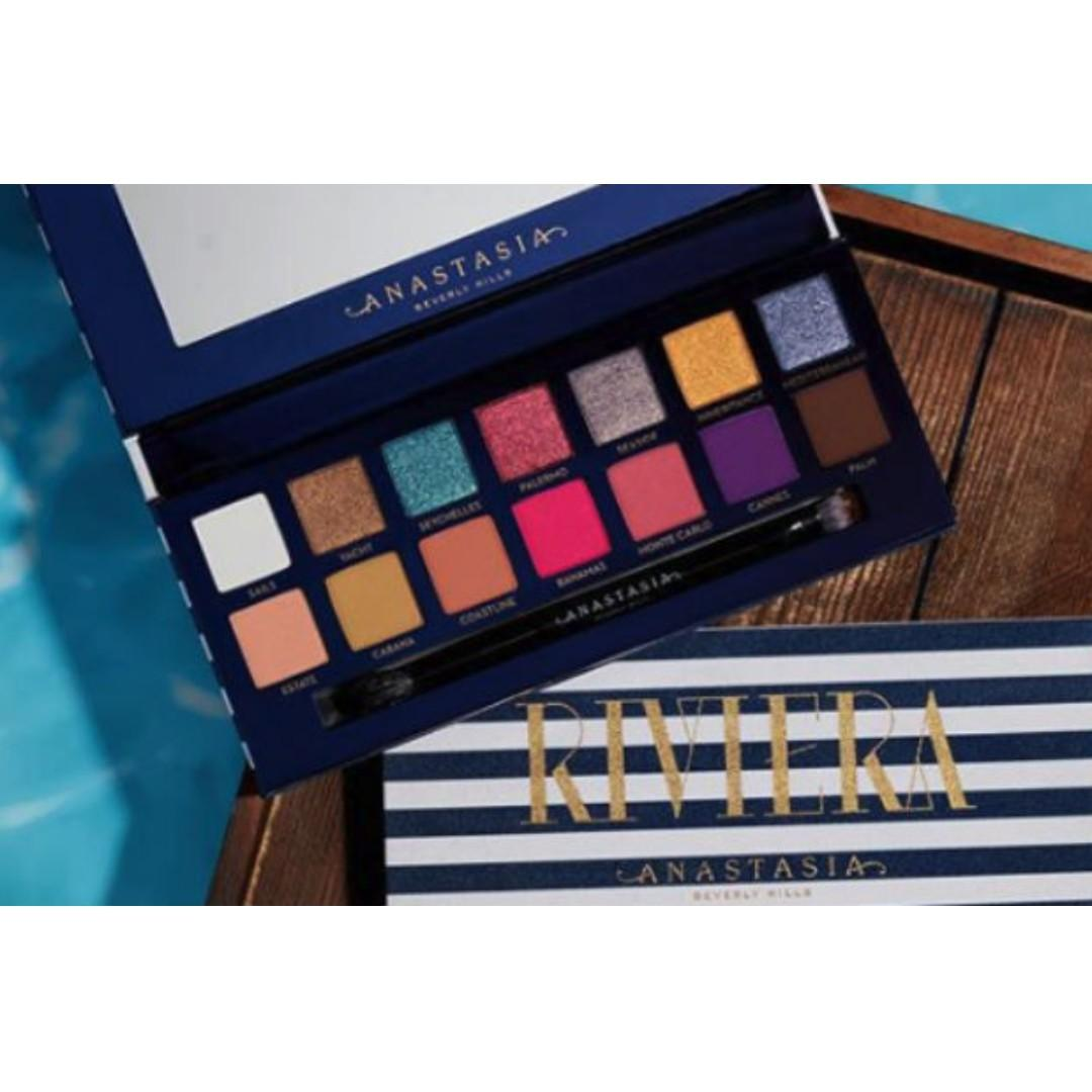 Anastasia Beverly Hills Riviera Palette 2019 BRAND NEW & AUTHENTIC [ARRIVING MARCH 8]