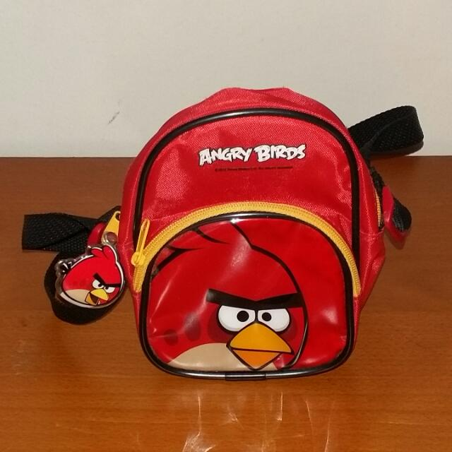 ANGRY BIRDS Terence Bag/Pouch Kids 2011 Rovio Mobile on Carousell