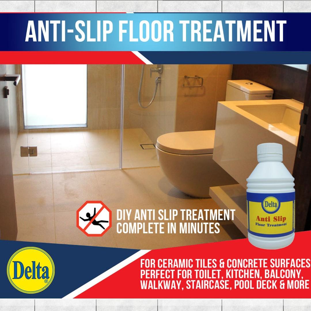Anti Slip Floor Treatment Slippery Floor Tile Solution