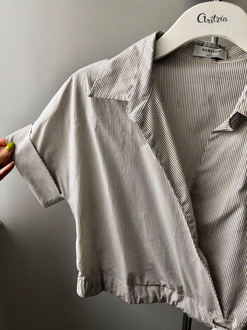 Babaton Ozana poplin blouse