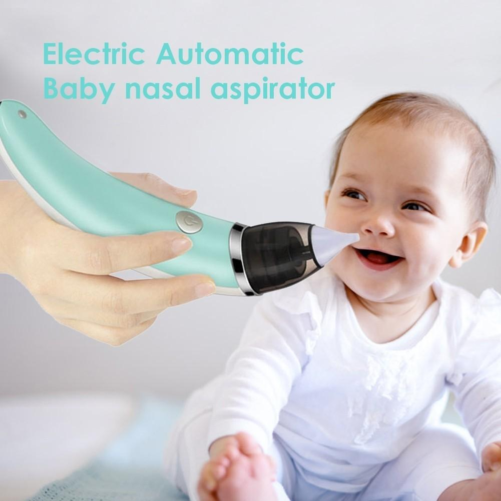 New Baby Nasal Aspirator Electric Safe Hygienic Nose Cleaner Oral Snot Sucker