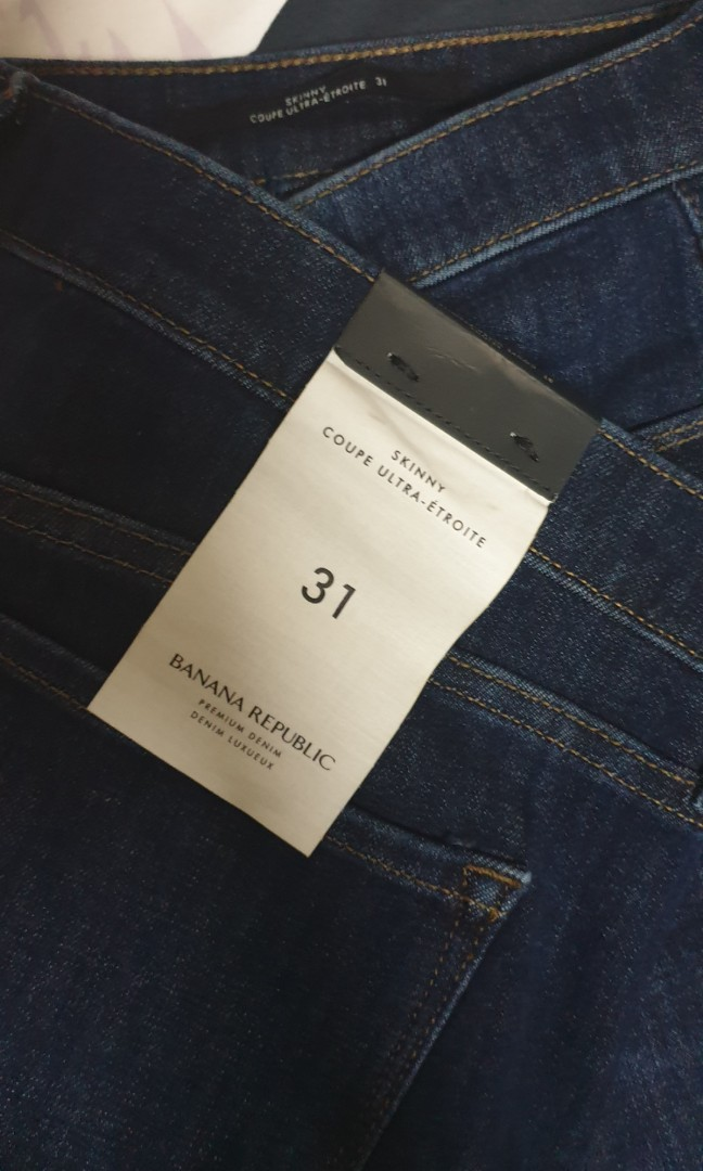 2604a8c4a7f9e Banana Republic Jeans, Women's Fashion, Clothes, Pants, Jeans ...