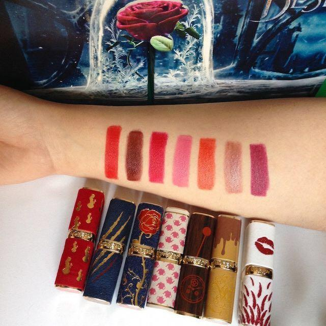 Beauty and the Beast L'Oréal Collaboration Lipsticks Limited Edition 2017 Live Action Movie Special Release