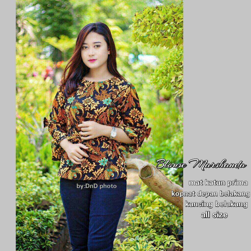 Blous batik